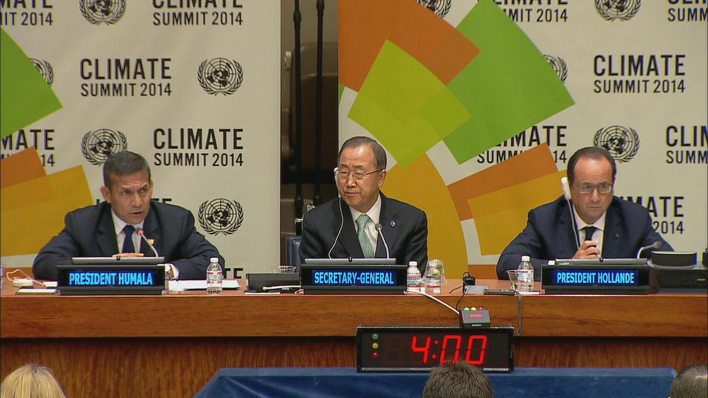 Selected frame from video story GA / CLIMATE PRESSER