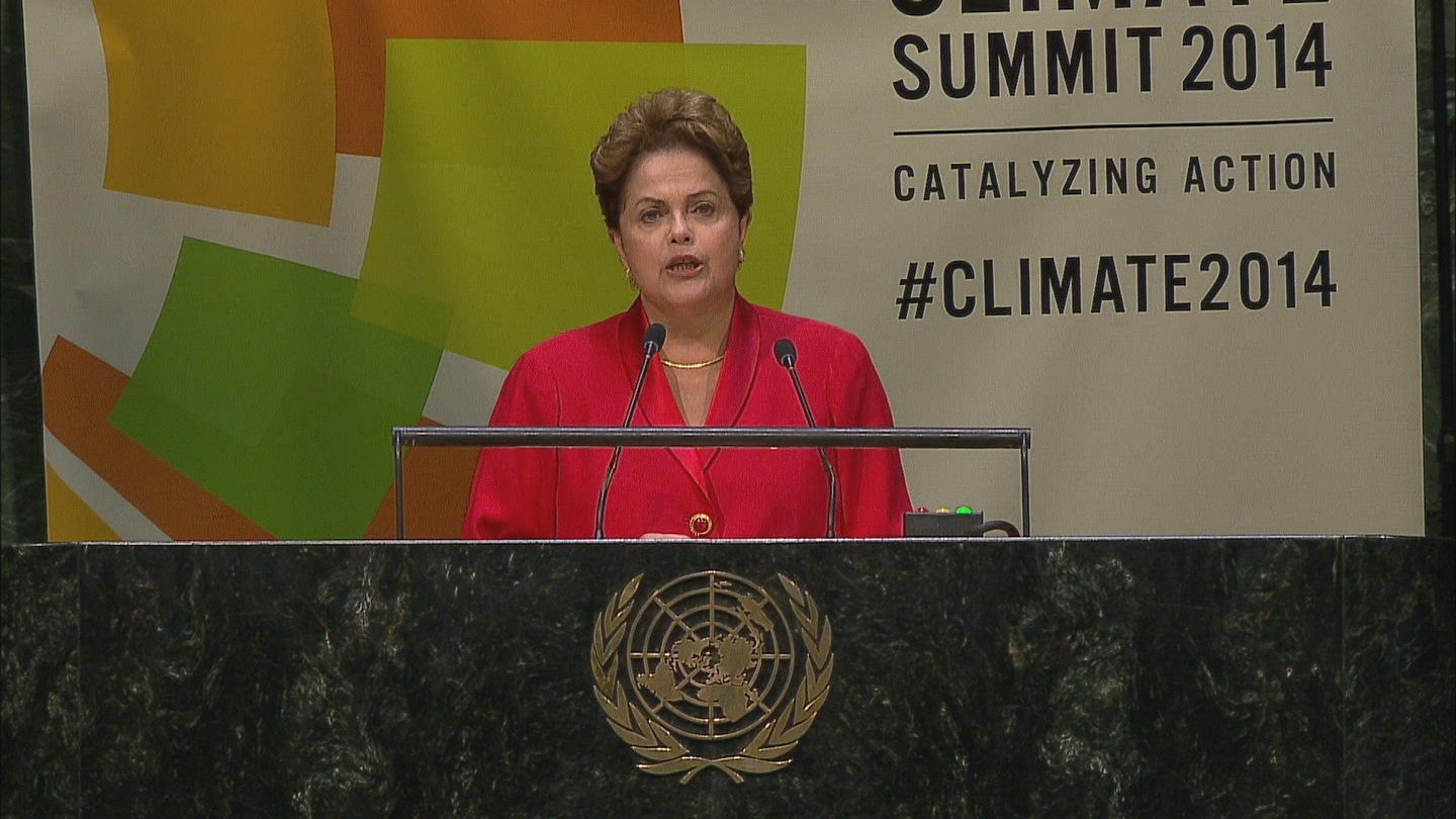 Selected frame from video story GA / CLIMATE SUMMIT 2