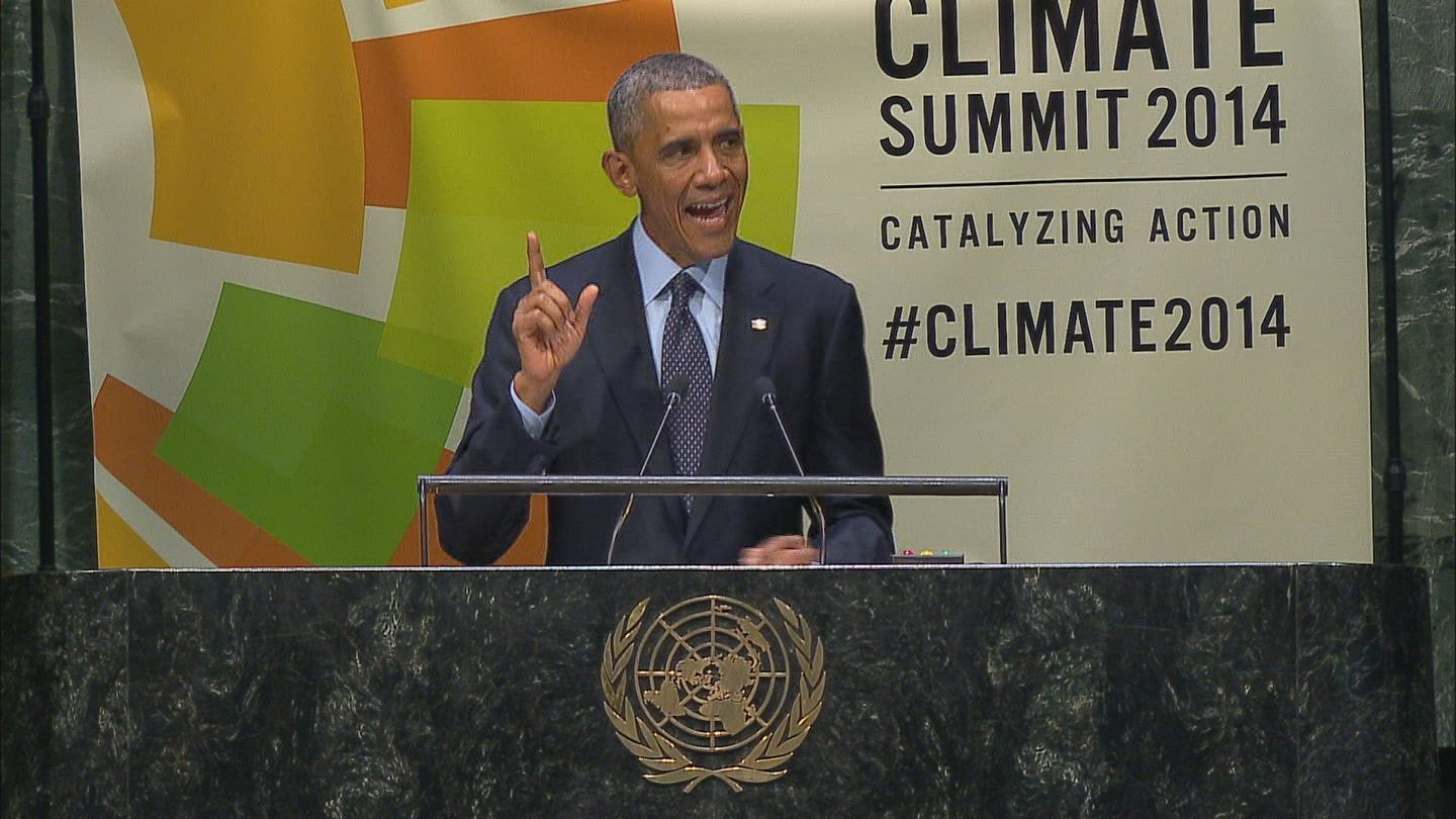 Selected frame from video story GA / CLIMATE SUMMIT 3