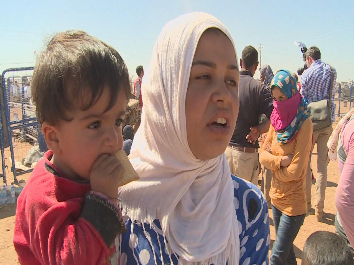 Selected frame from video story TURKEY/ HANINE SYRIAN REFUGEE