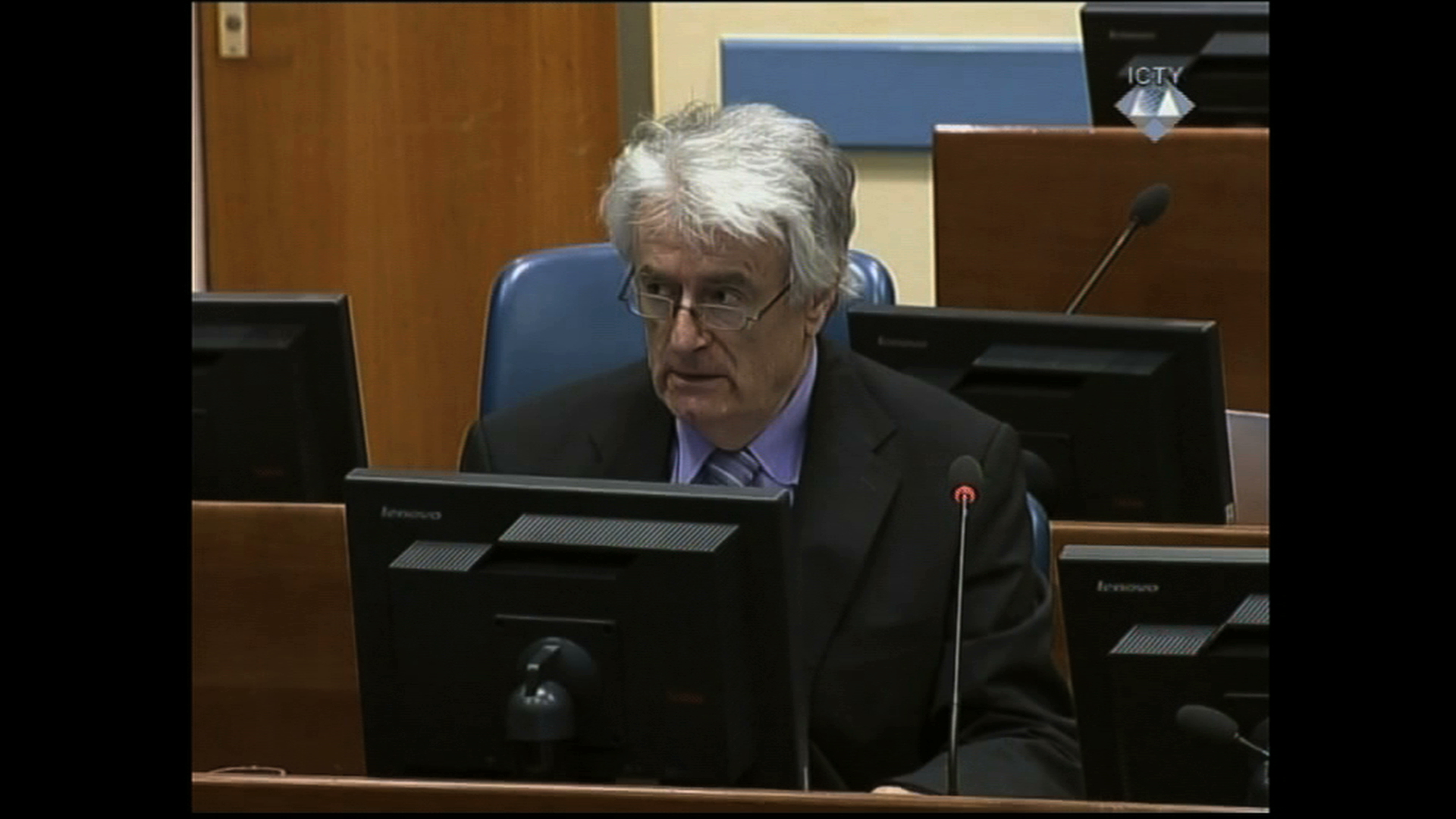 Selected frame from video story ICTY / KARADZIC