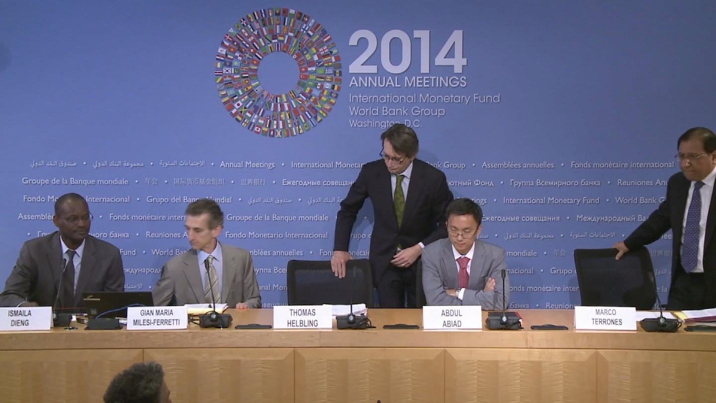 Selected frame from video story IMF / WEO INFRASTUCTURE AND TRADE