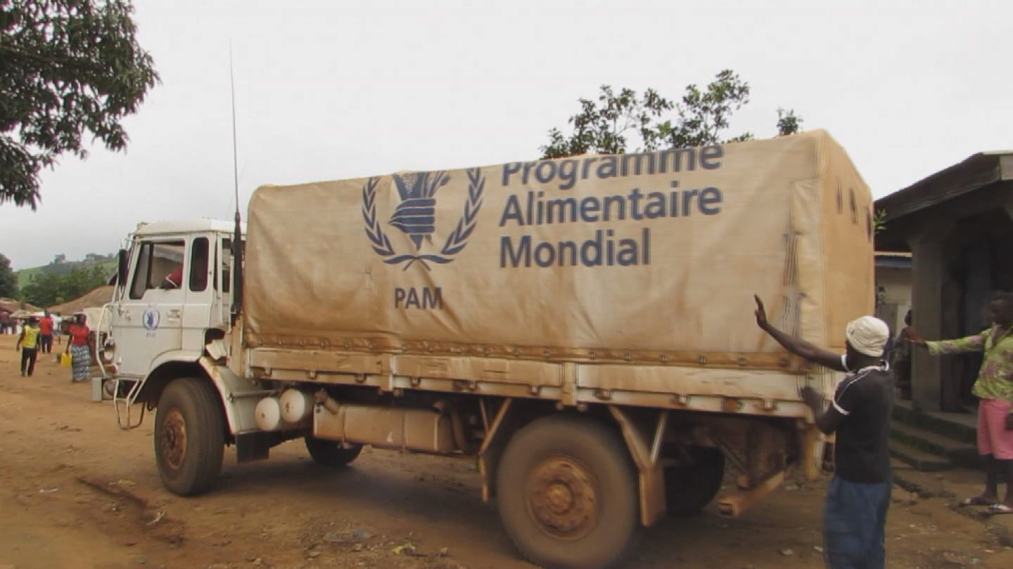 Selected frame from video story WEST AFRICA / EBOLA AID