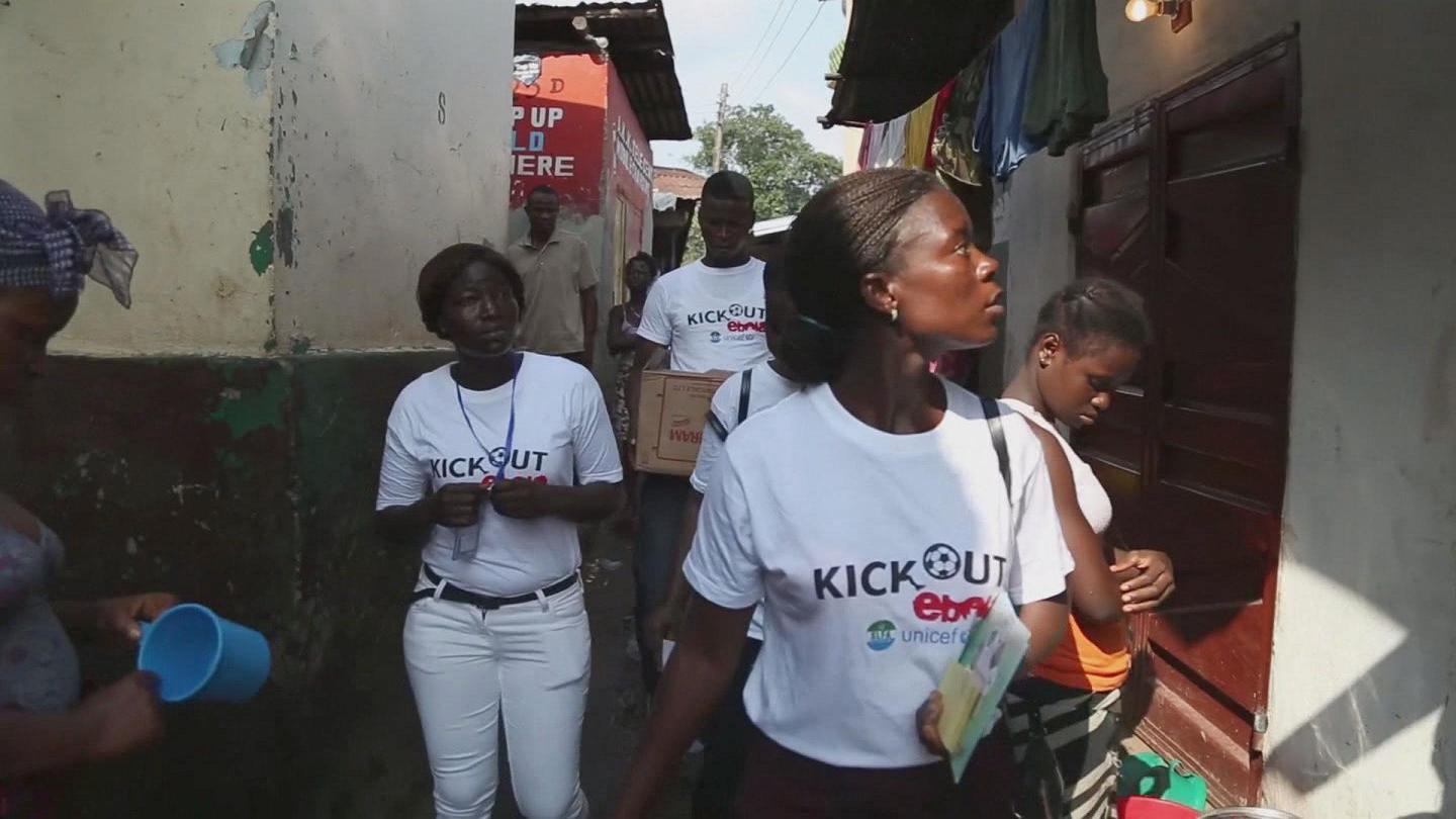 Selected frame from video story SIERRA LEONE / HOUSE TO HOUSE CAMPAIGN