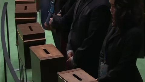 Selected frame from video story GA / SECURITY COUNCIL NON PERMANENT VOTE