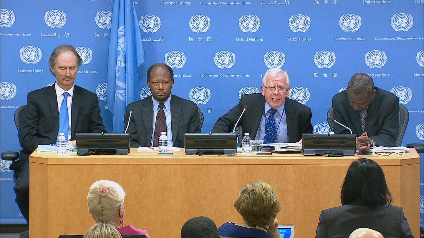 Selected frame from video story UN / FINANCING POST-2015 DEVELOPMENT
