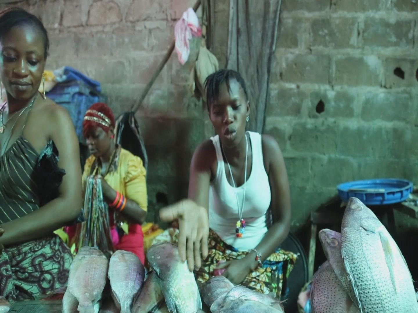 Selected frame from video story SIERRA LEONE / EBOLA FOOD SECURITY
