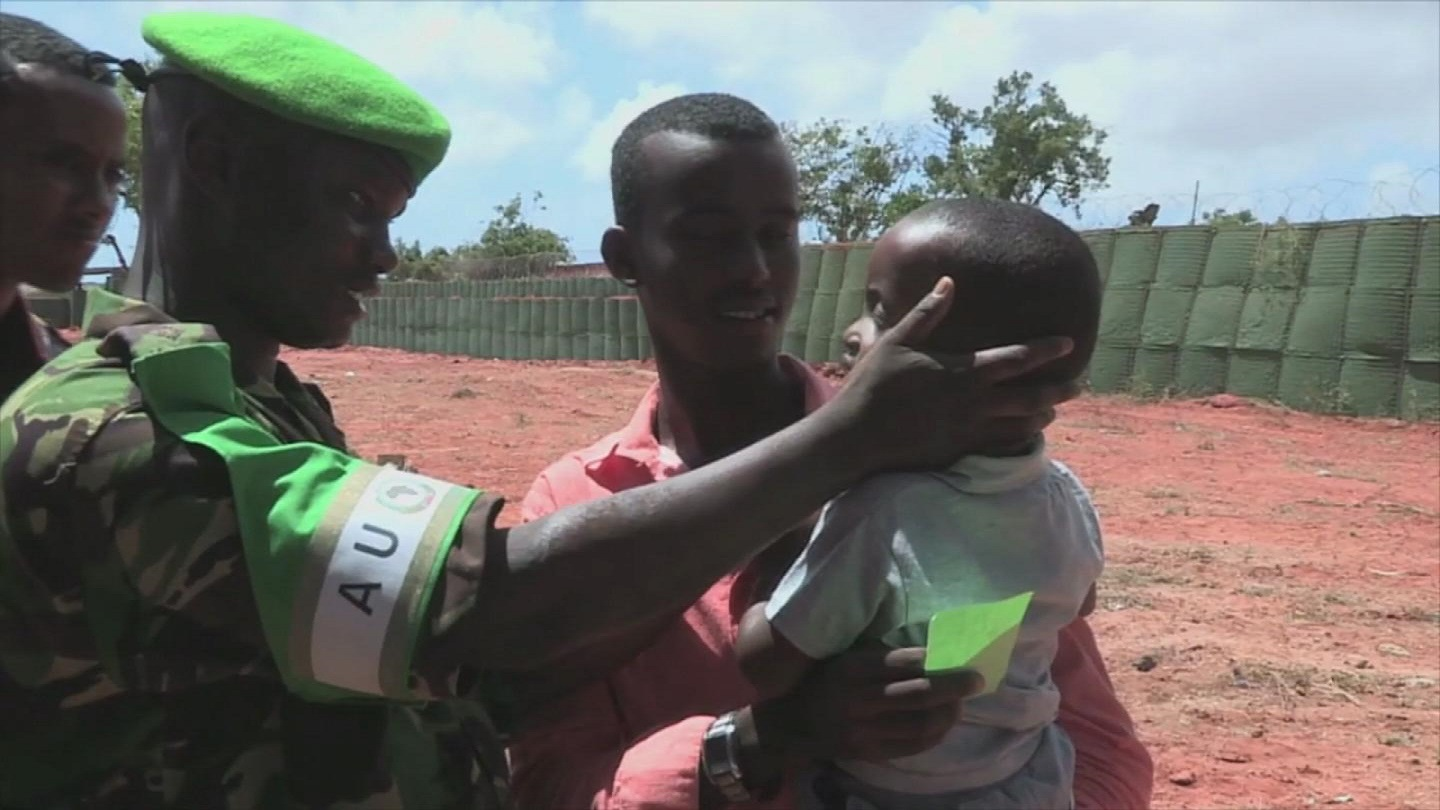 Selected frame from video story SOMALIA / KISMAYO MEDICAL CAMP