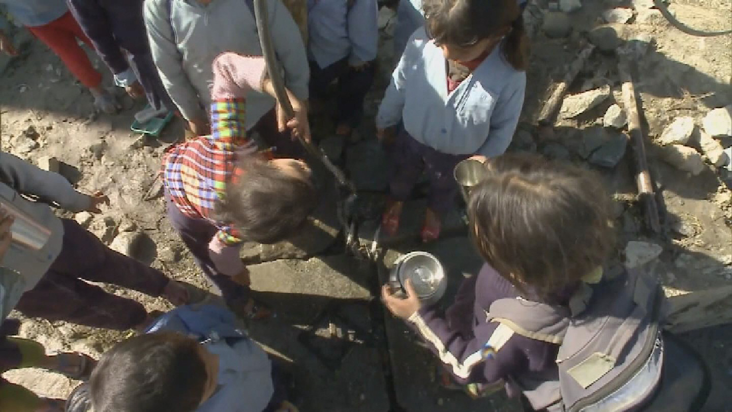 Selected frame from video story GENEVA / WATER AND SANITATION