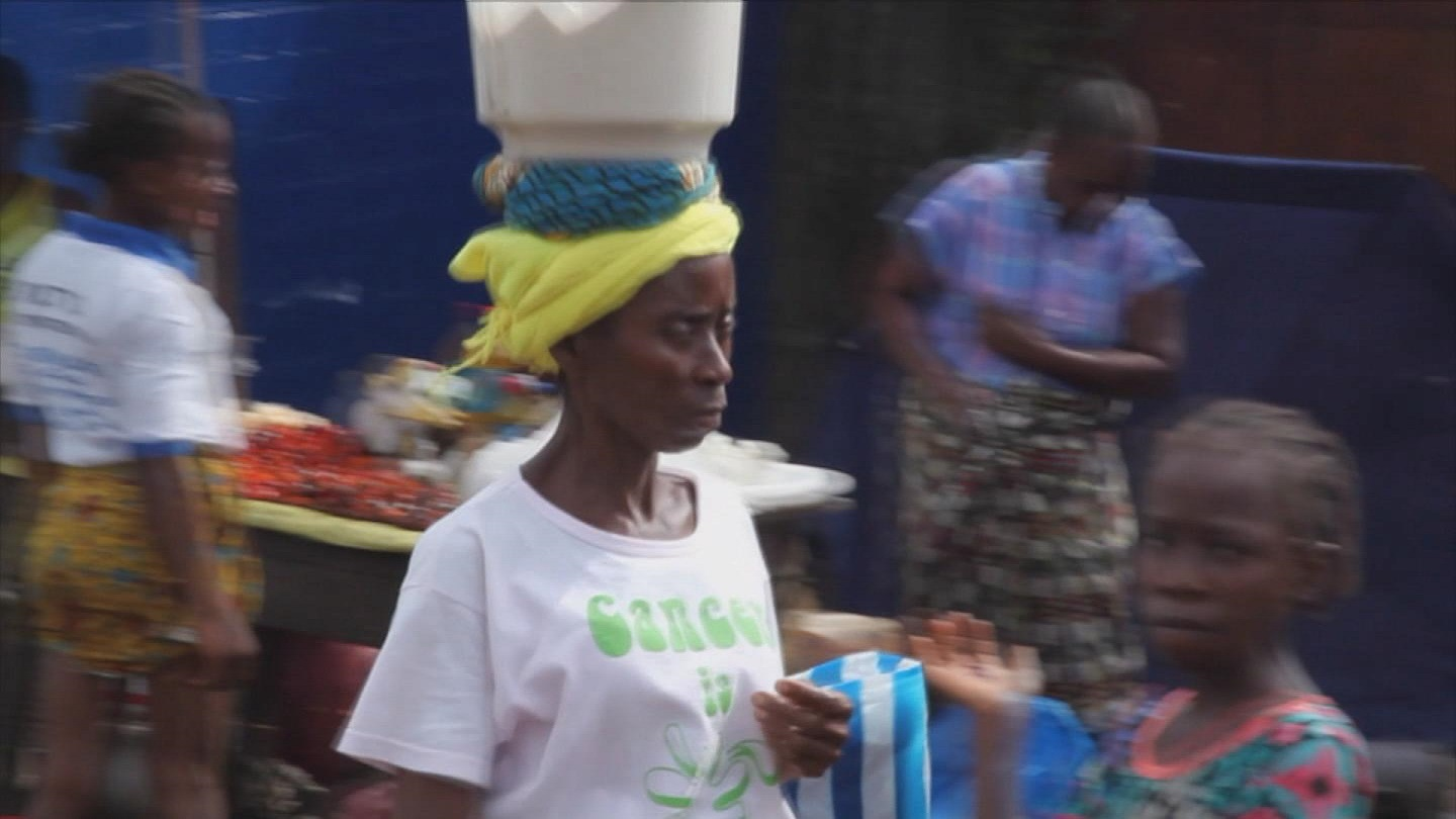 Selected frame from video story WFP / EBOLA WOMEN