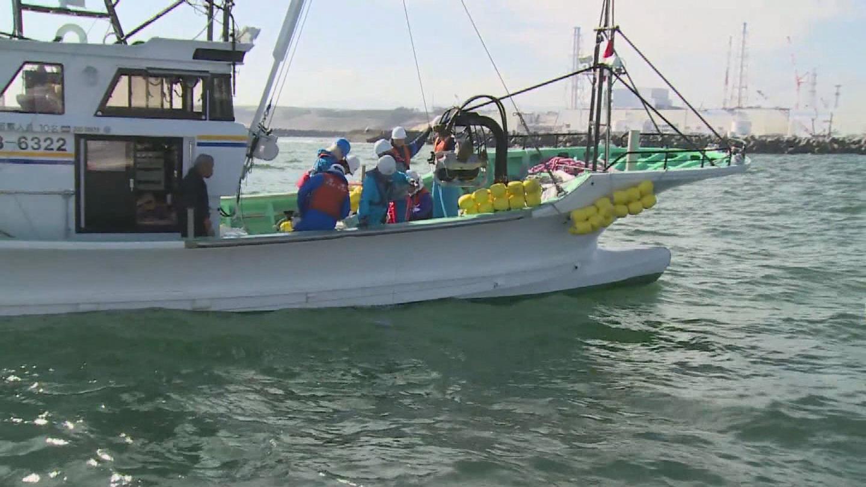 Selected frame from video story IAEA / FUKUSHIMA SEAWATER SAMPLING