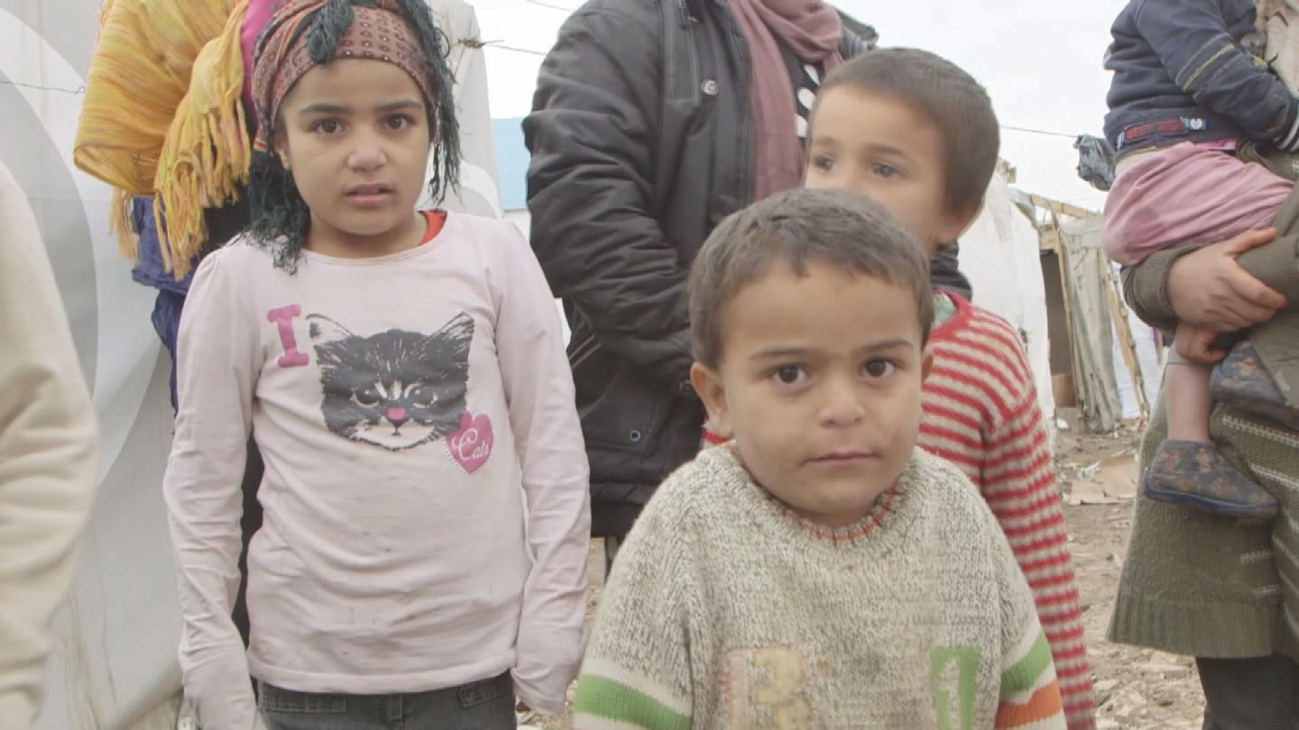 Selected frame from video story LEBANON / SYRIAN REFUGEES