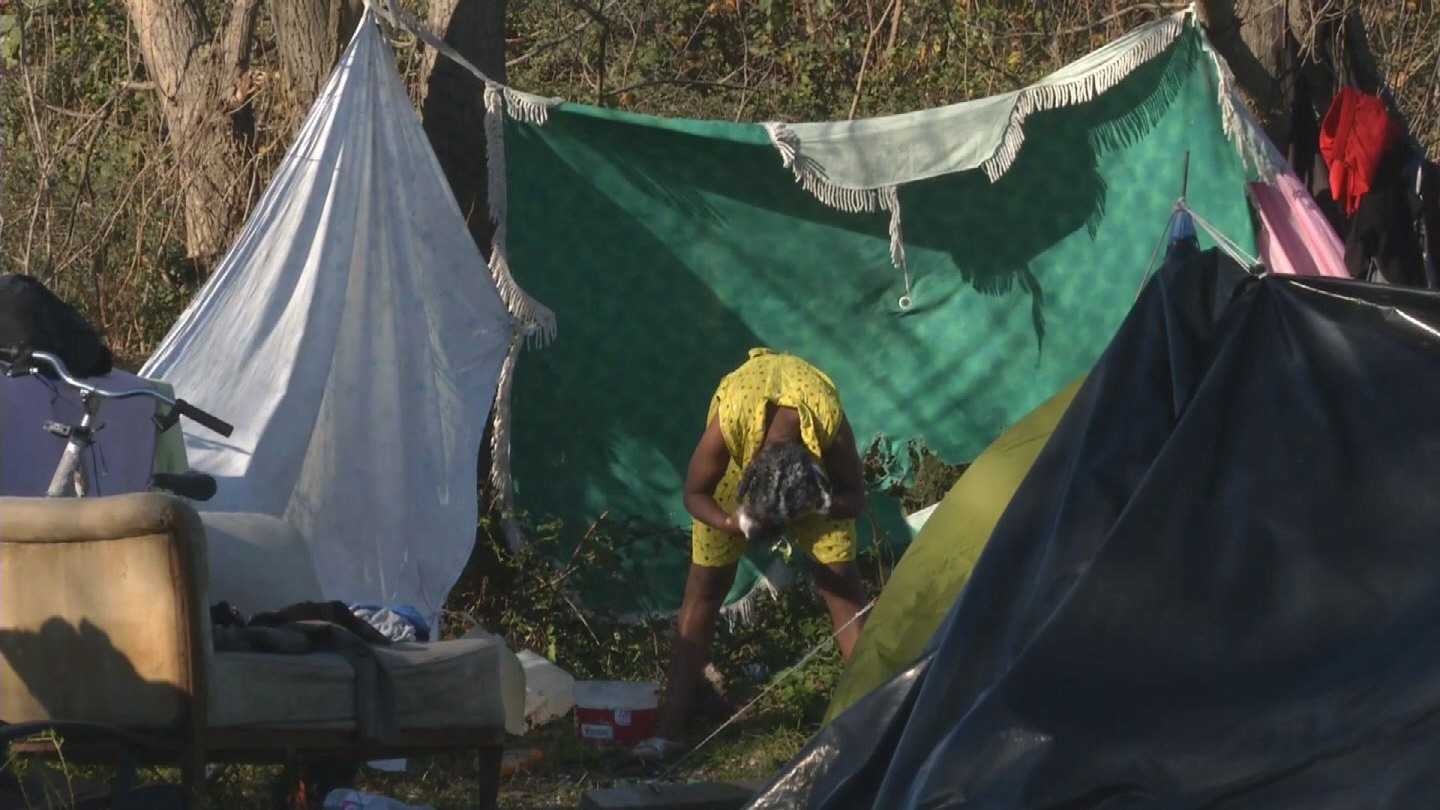 Selected frame from video story FRANCE / CALAIS MIGRANTS