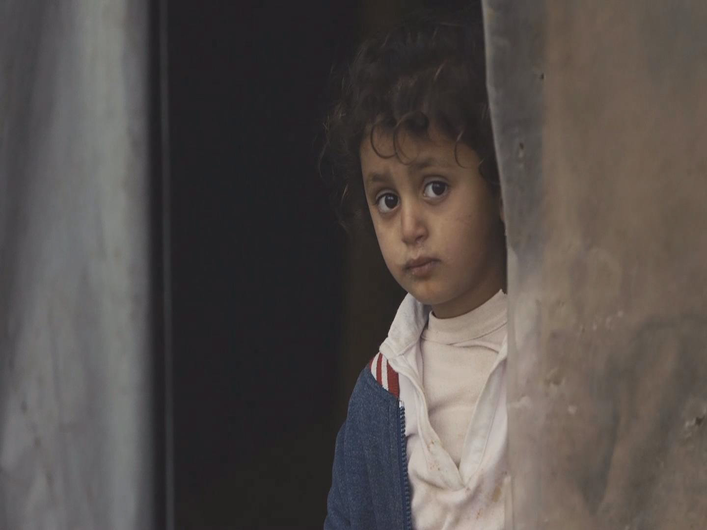 Selected frame from video story LEBANON / SYRIAN REFUGEES WINTER