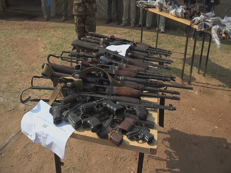 SOUTH SUDAN  WEAPONS DESTRUCTION