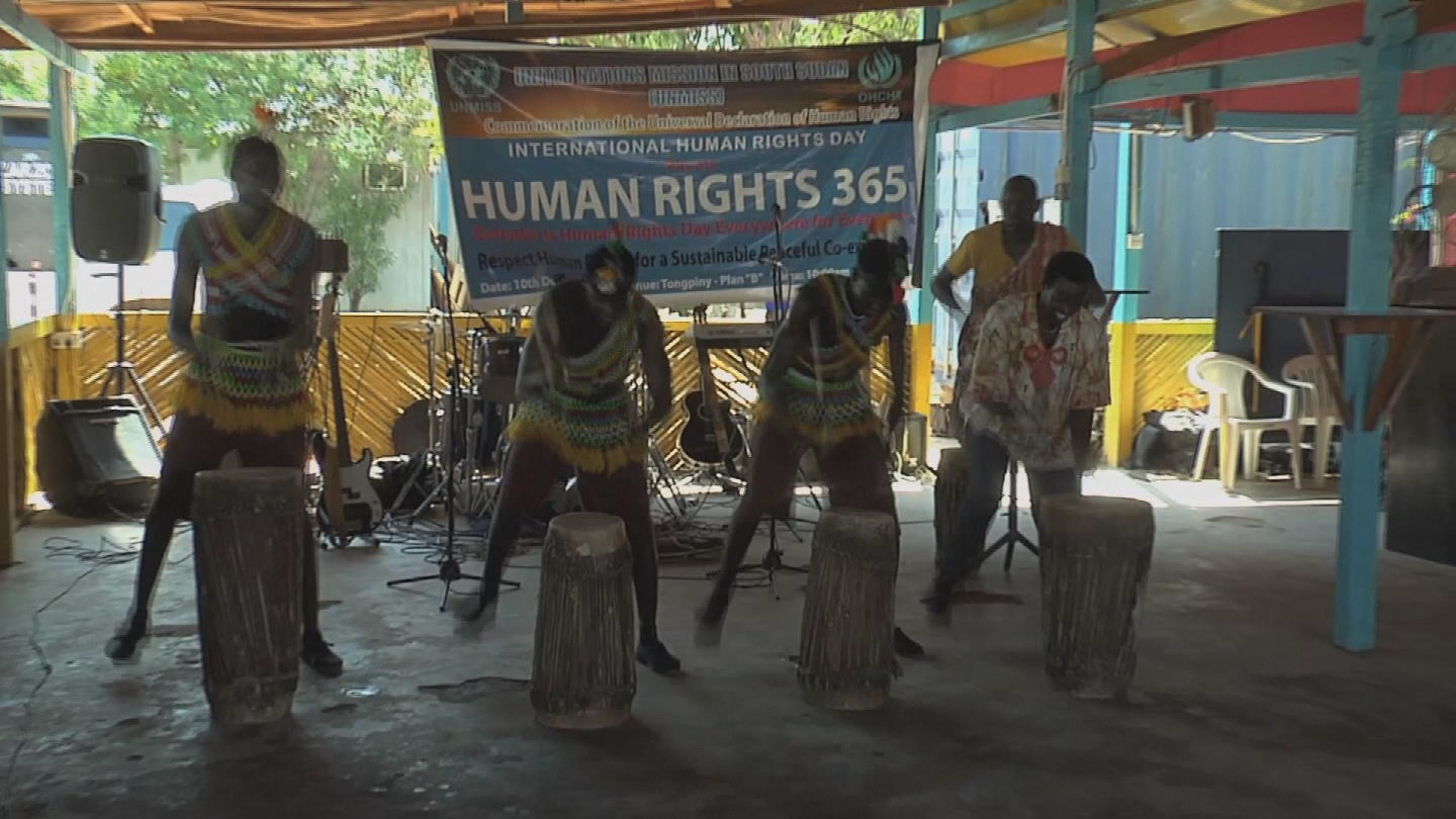 Selected frame from video story SOUTH SUDAN / HUMAN RIGHTS DAY