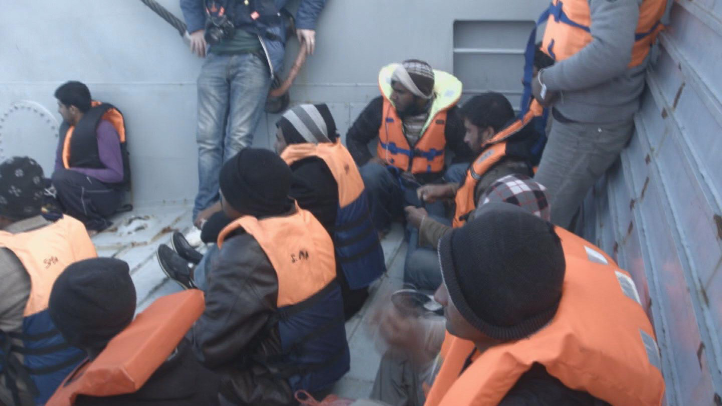 Selected frame from video story UNHCR / MIGRANTS AT SEA