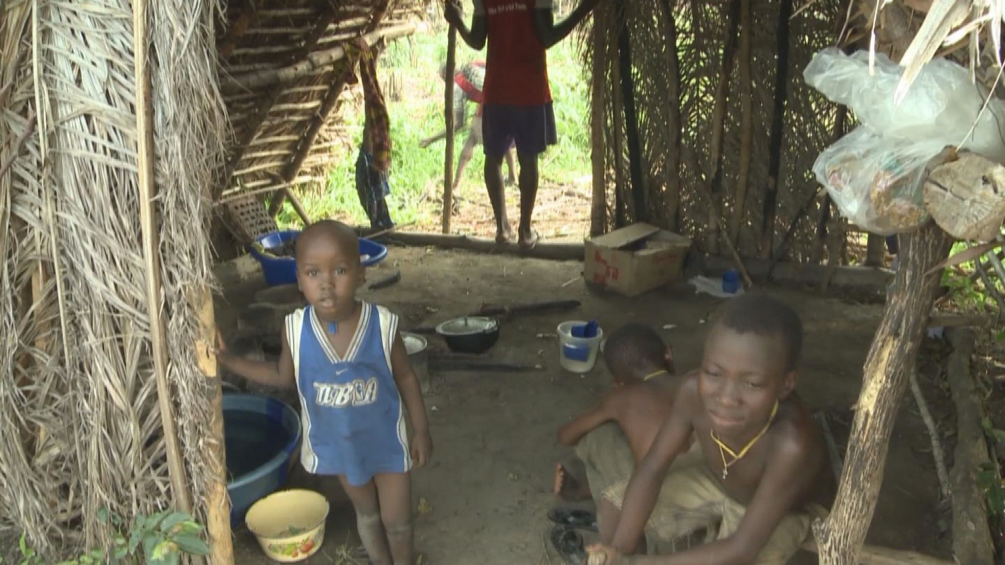 Selected frame from video story SIERRA LEONE / LIBERIA / EBOLA HUNGER