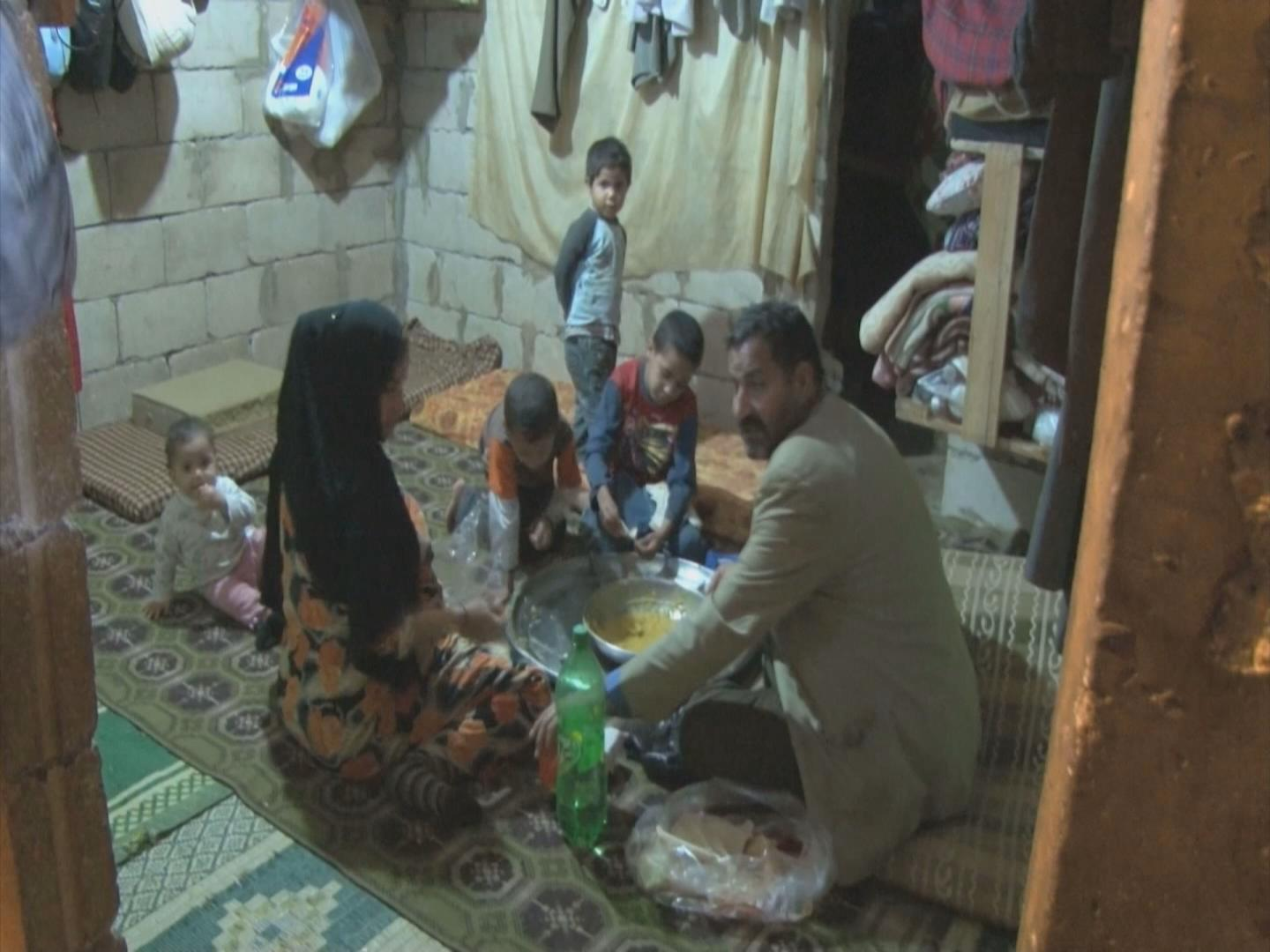 Selected frame from video story IRAQ- LEBANON / SYRIAN REFUGEES