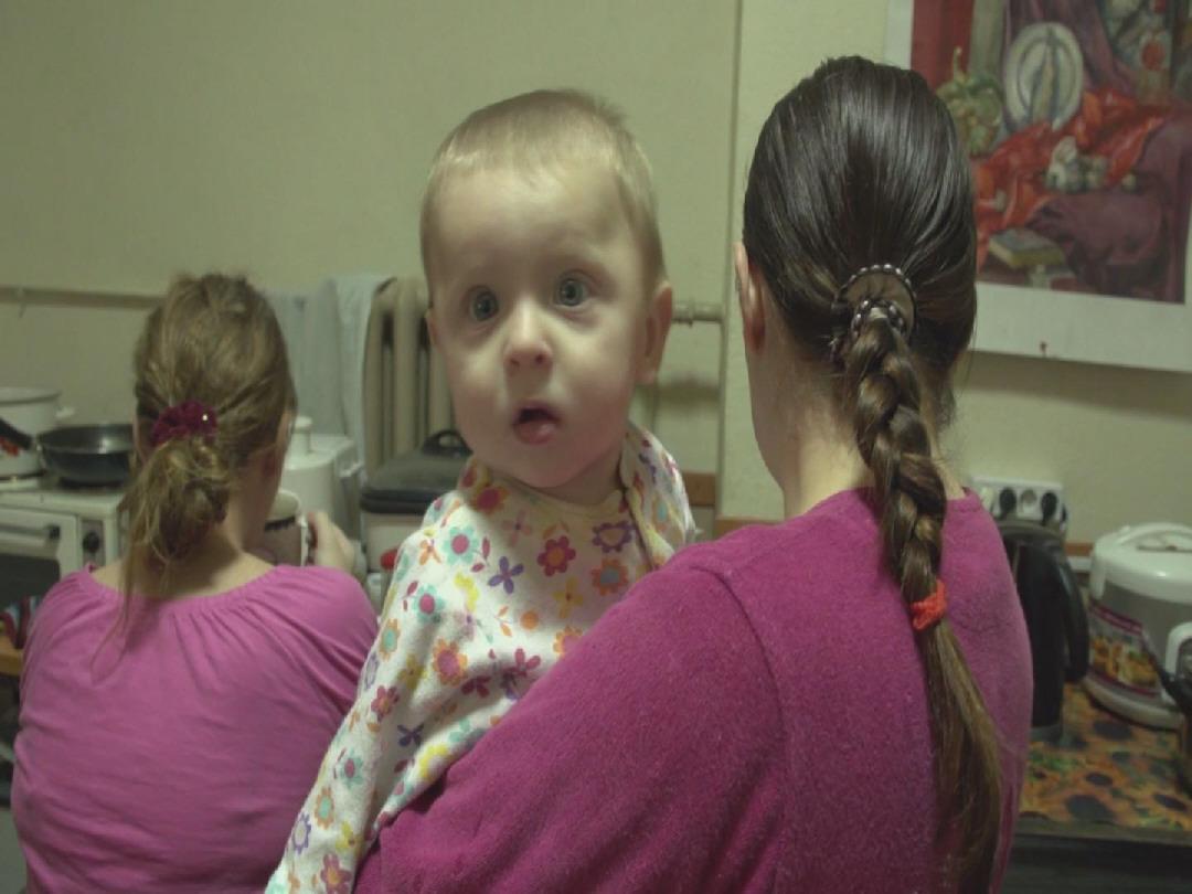 Selected frame from video story UKRAINE / CHILDREN
