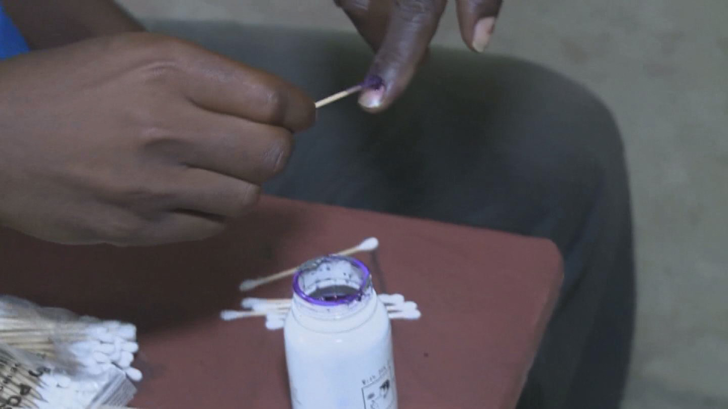 Selected frame from video story LIBERIA / ELECTIONS