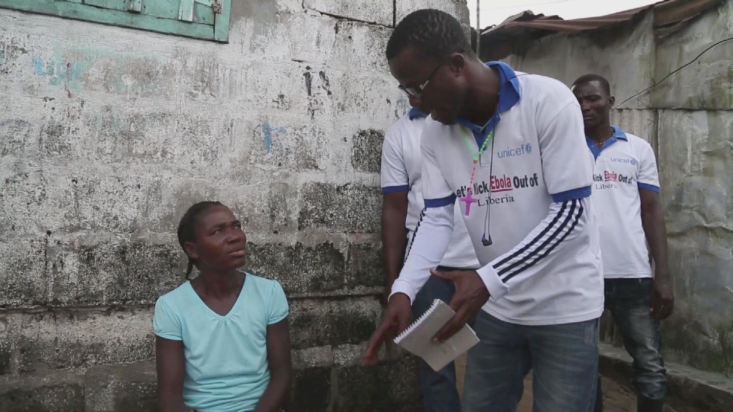 Selected frame from video story MONROVIA / EBOLA & MALNUTRITION