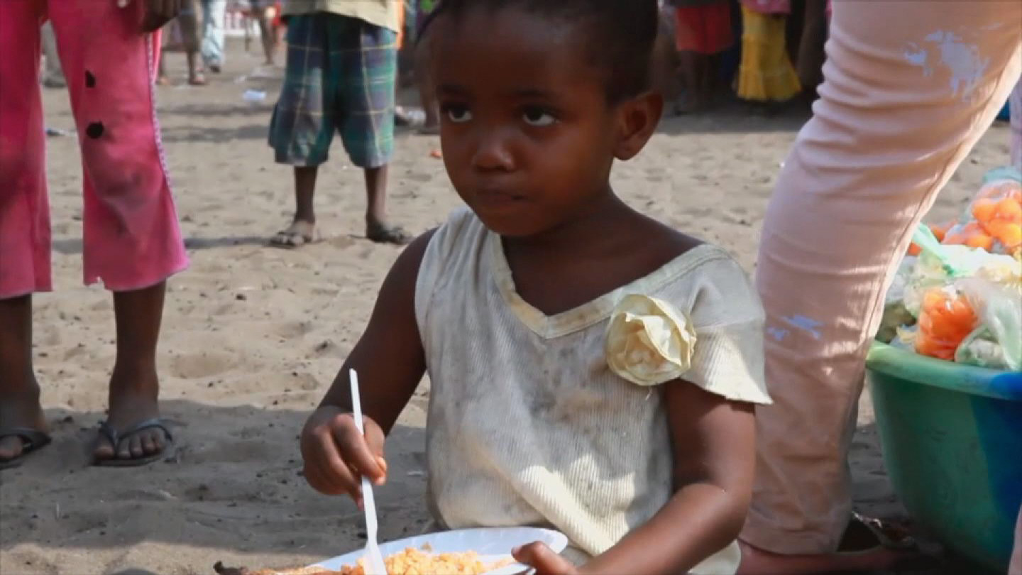 Selected frame from video story LIBERIA / EBOLA CHRISTMAS