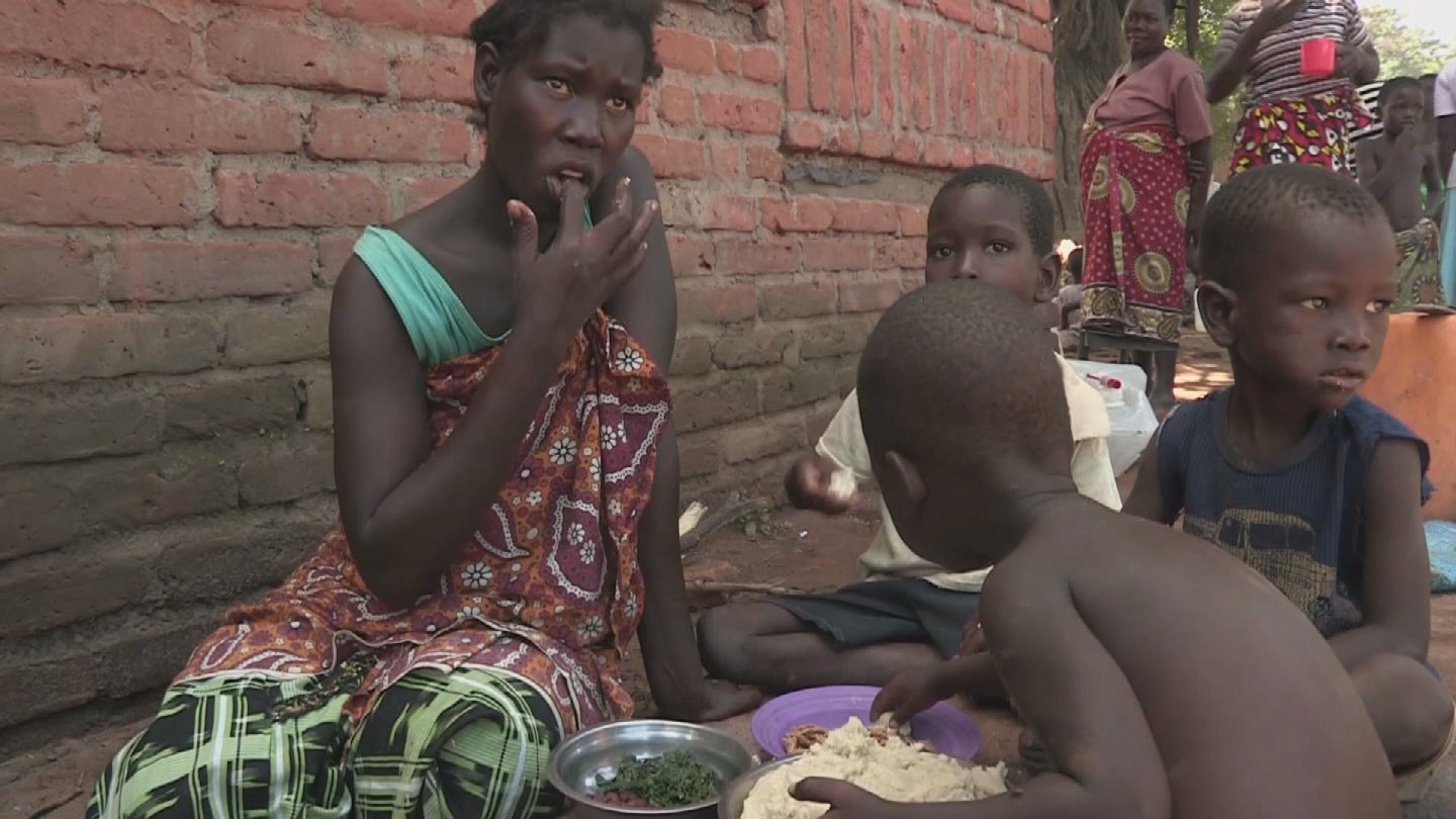 Selected frame from video story MALAWI / FLOODS NUTRITION