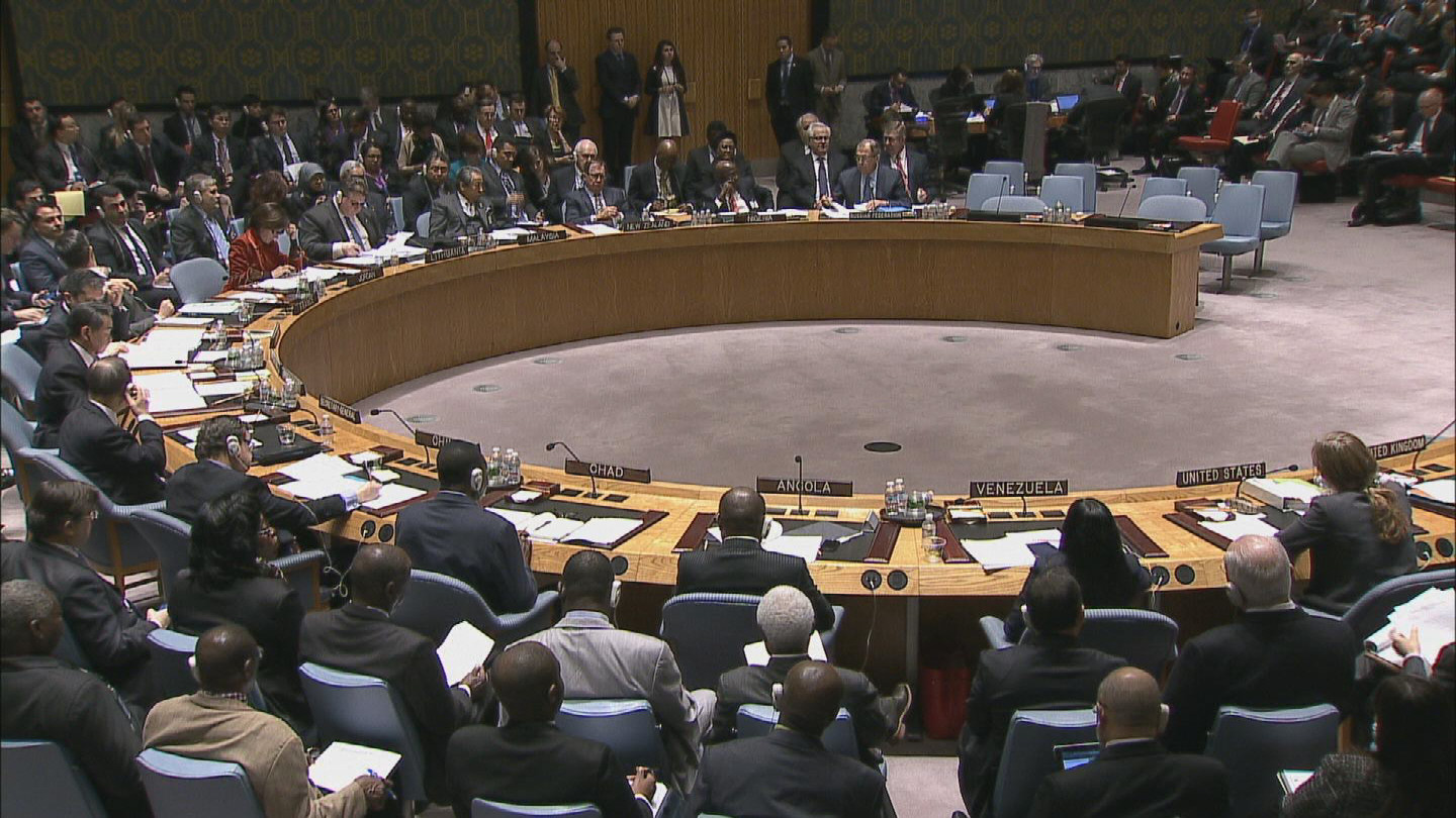 Selected frame from video story UN / PEACE AND SECURITY