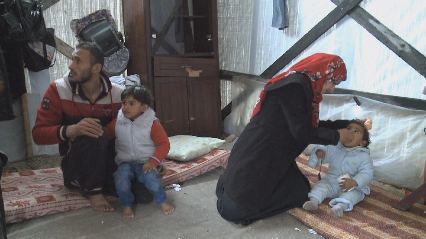Selected frame from video story UNRWA / AL-MASRI FAMILY