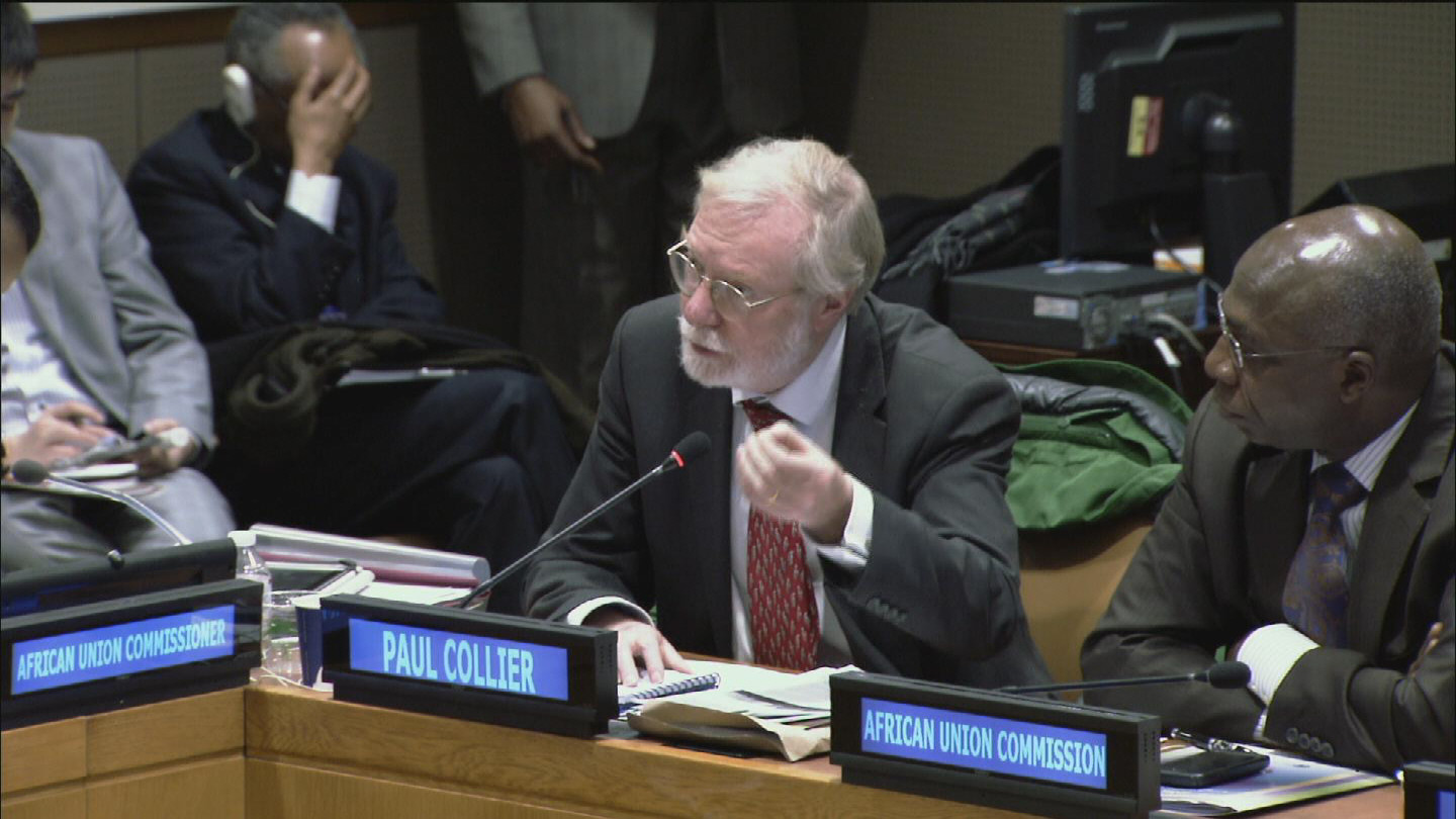 Selected frame from video story UN / AFRICA POST-2015 DEVELOPMENT AGENDA