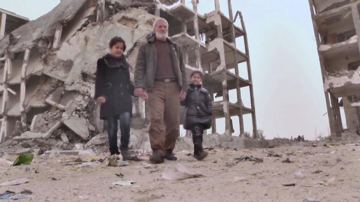 Selected frame from video story GAZA/ SIX MONTHS AFTER