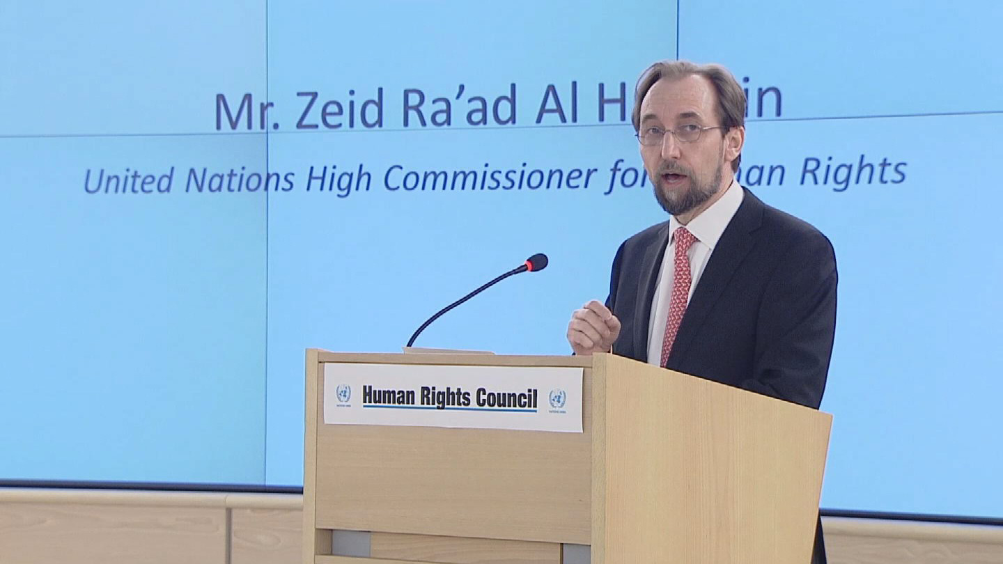 Selected frame from video story GENEVA / HRC ZEID