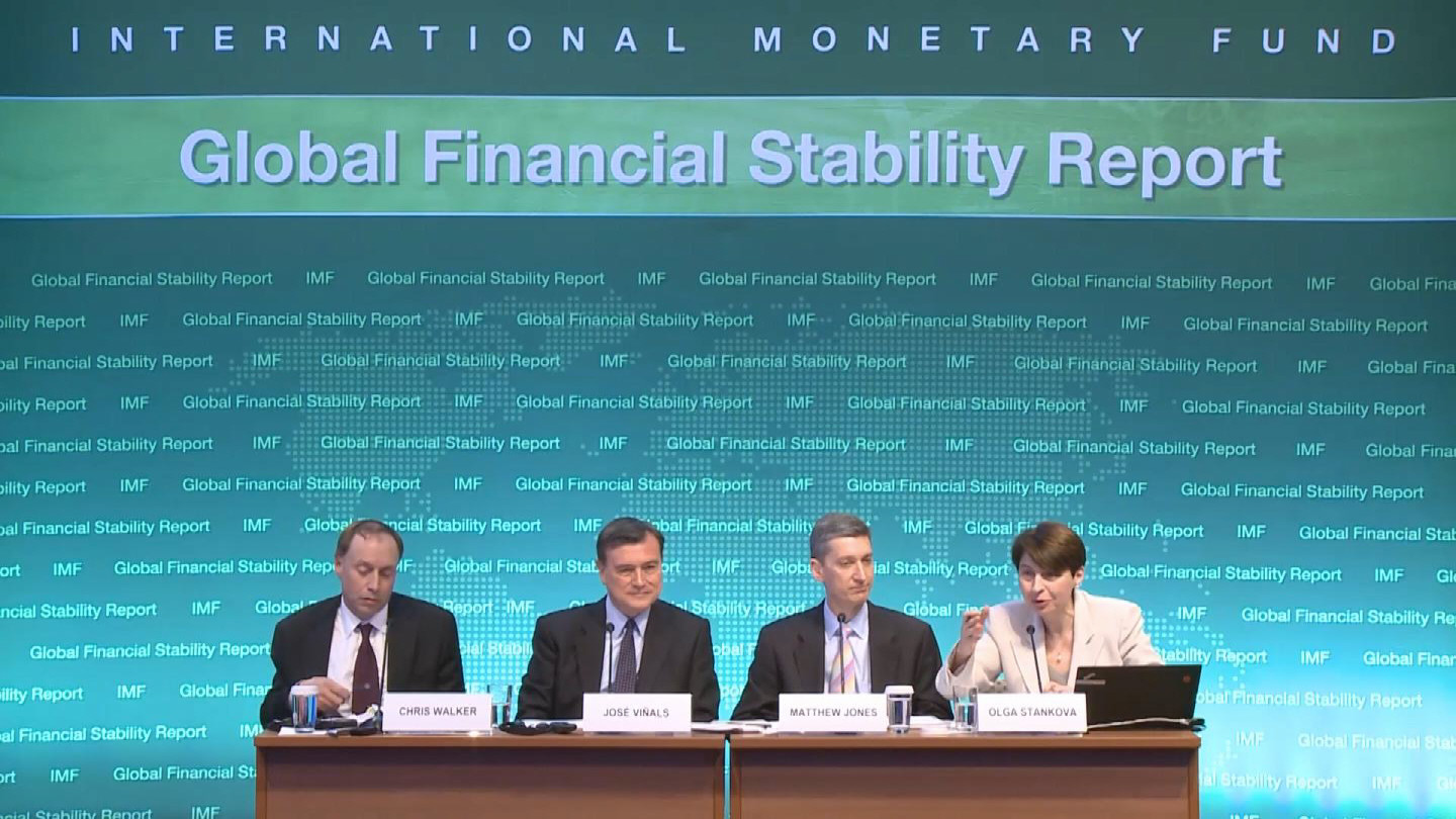 Selected frame from video story IMF / GFSR PRESSER