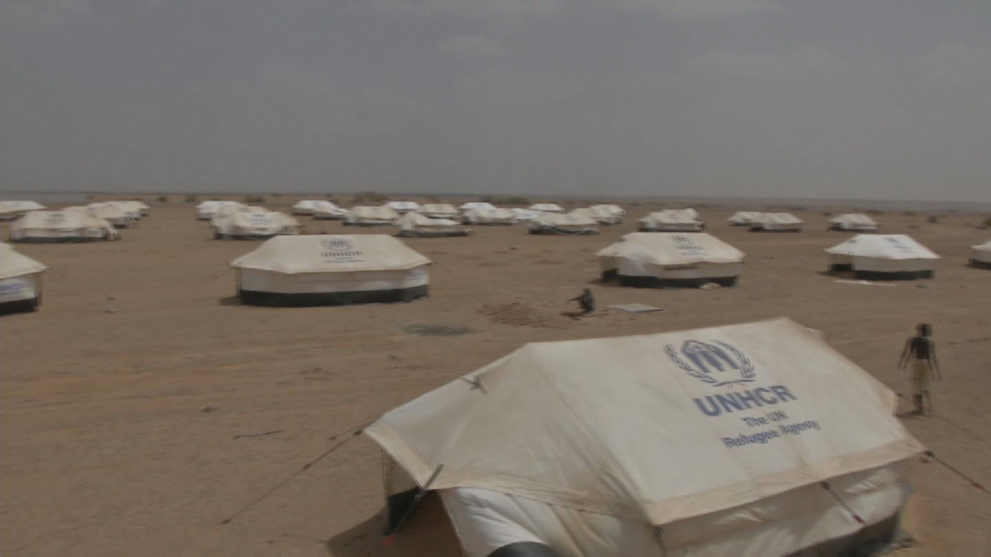 Selected frame from video story DJIBOUTI / YEMENI REFUGEES