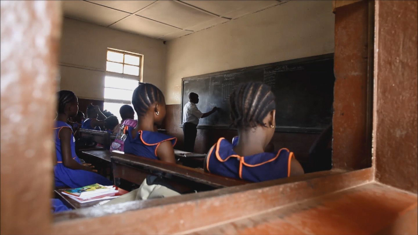 Selected frame from video story SIERRA LEONE / SCHOOL OPENING