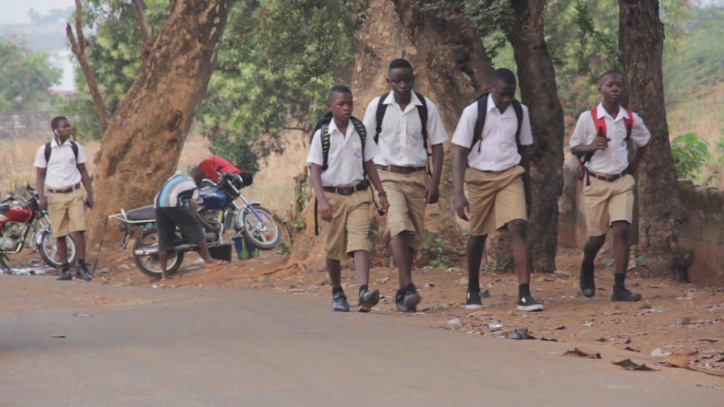 Selected frame from video story SIERRA LEONE /  BACK TO SCHOOL