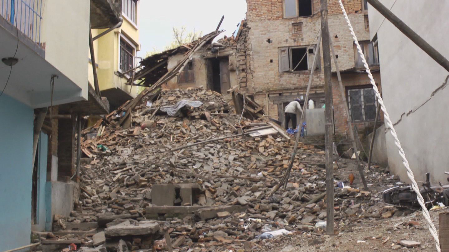 Selected frame from video story NEPAL / EARTHQUAKE 2