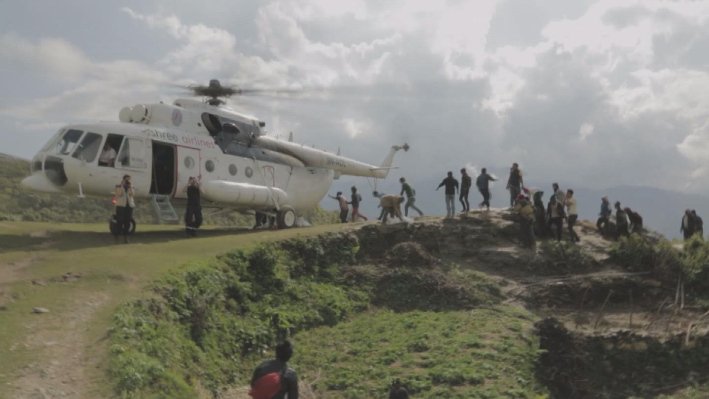 Selected frame from video story NEPAL / WFP IN REMOTE AREAS