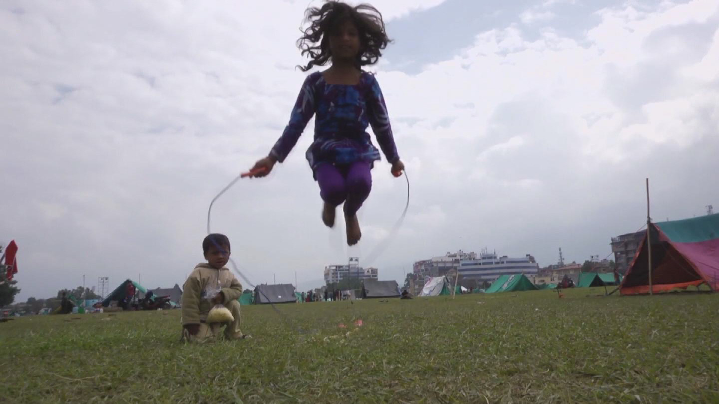 Selected frame from video story NEPAL / CHILD FRIENDLY SPACES