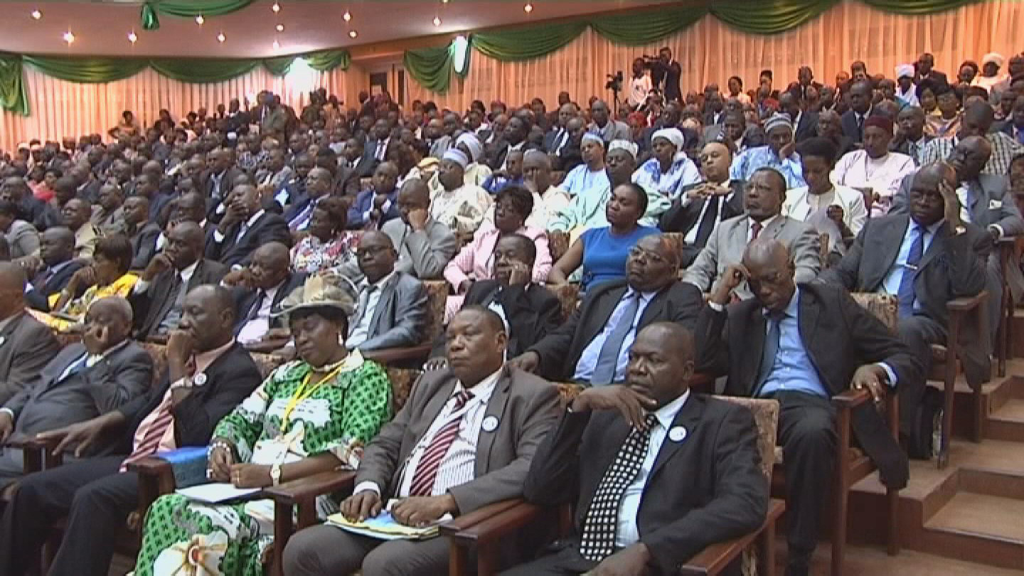 Selected frame from video story BANGUI / NATIONAL FORUM