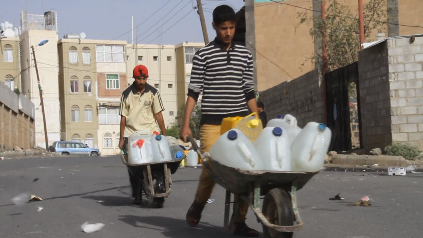 Selected frame from video story YEMEN / WATER SHORTAGES