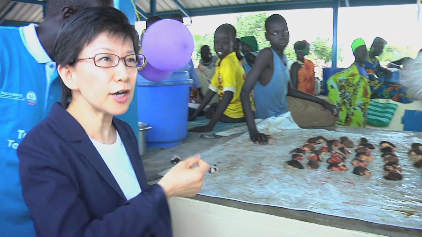 Selected frame from video story SOUTH SUDAN /  NAKAMITSU MARKET SHED