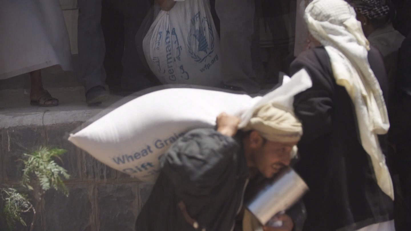 Selected frame from video story YEMEN / WFP WARNING