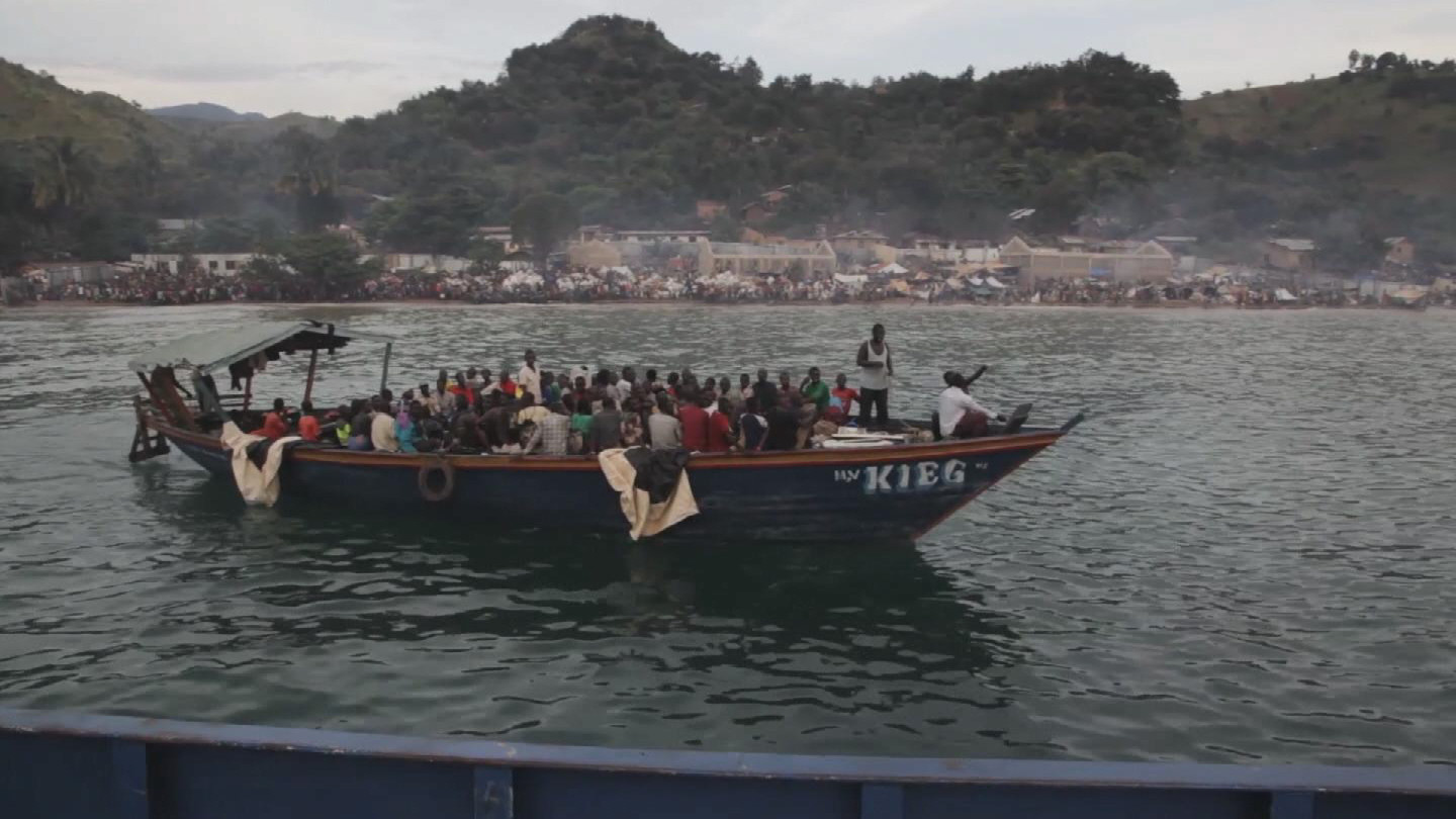 Selected frame from video story TANZANIA / BURUNDIAN REFUGEES