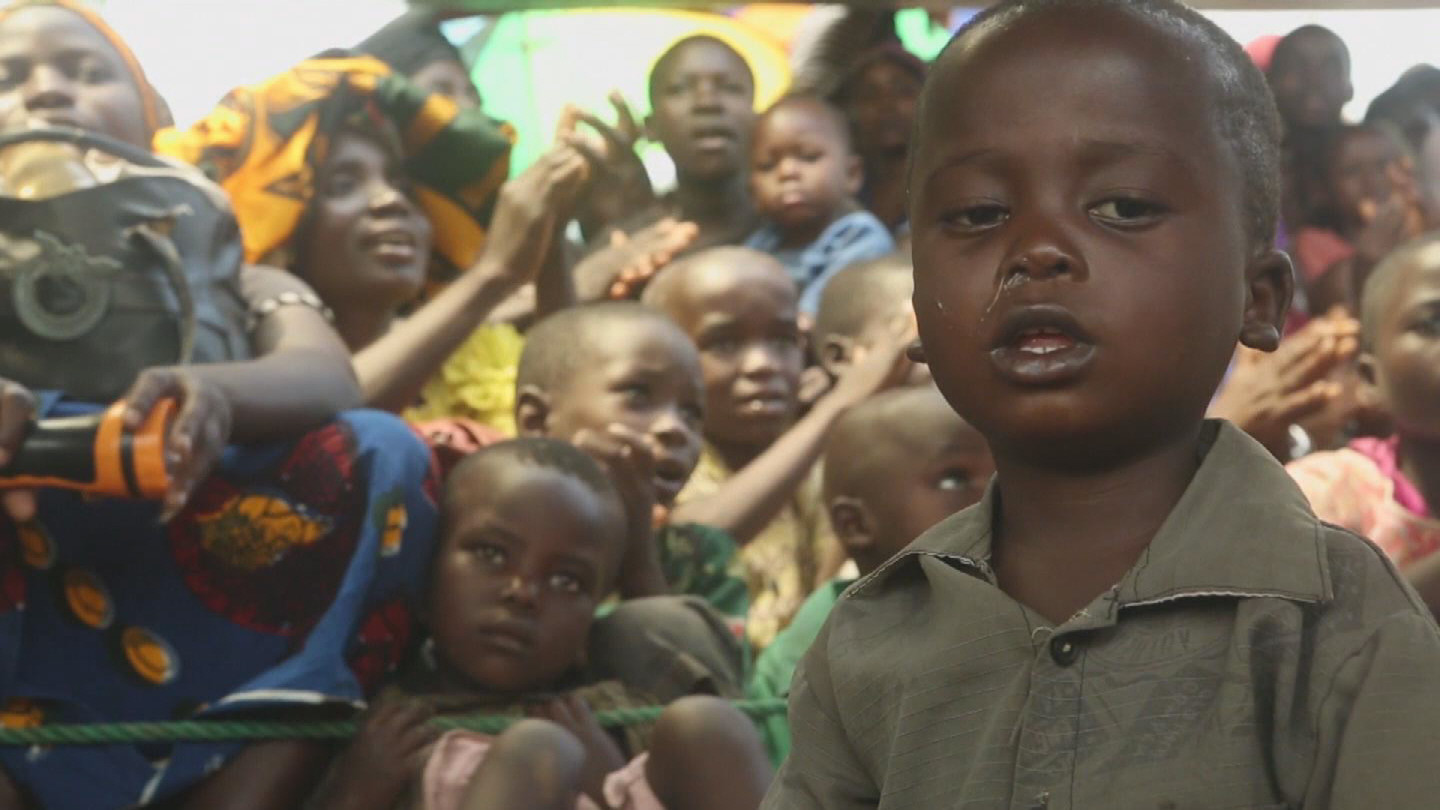 Selected frame from video story TANZANIA / BURUNDI CHILDREN