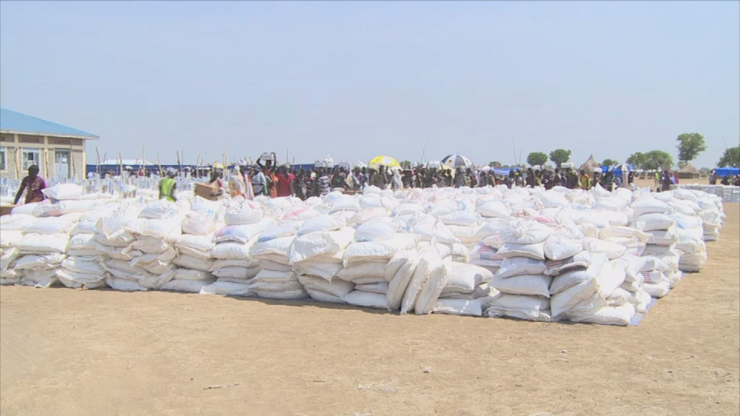 Selected frame from video story SOUTH SUDAN / FOOD INSECURITY