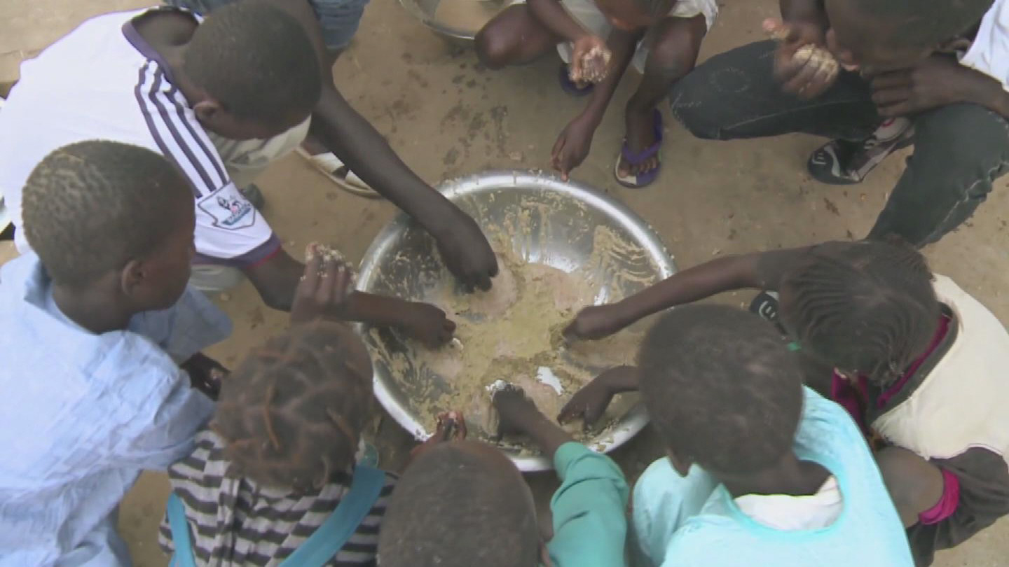 Selected frame from video story FAO / WORLD HUNGER