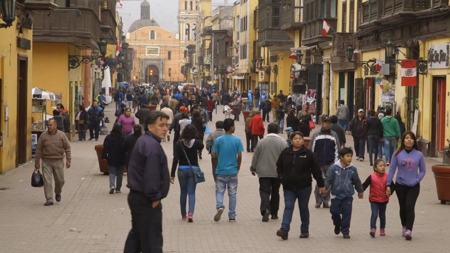 Selected frame from video story IMF / PERU ECONOMIC GROWTH