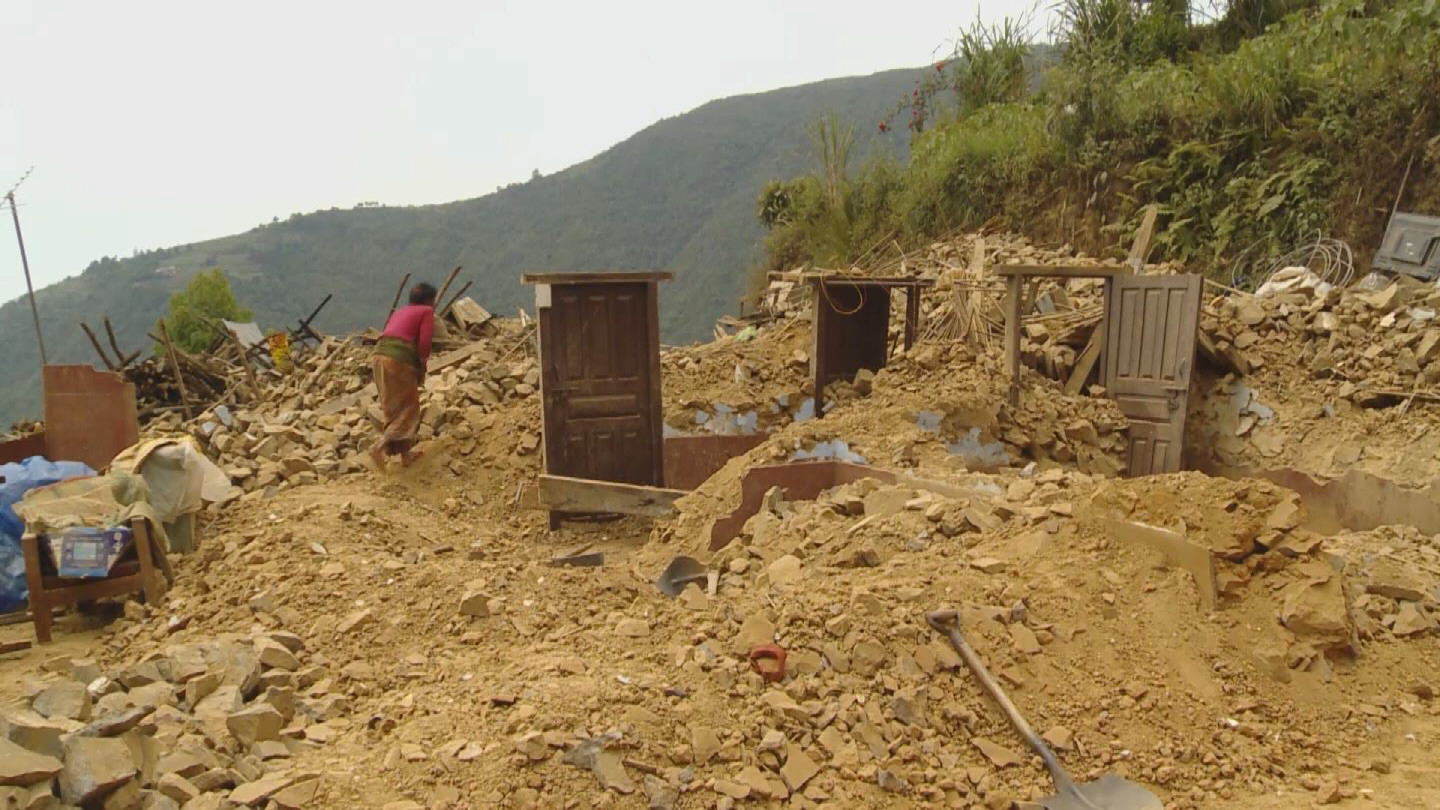 Selected frame from video story UNHCR / NEPAL VILLAGERS